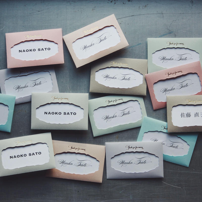 NAME CARD ENVELOPE 10set