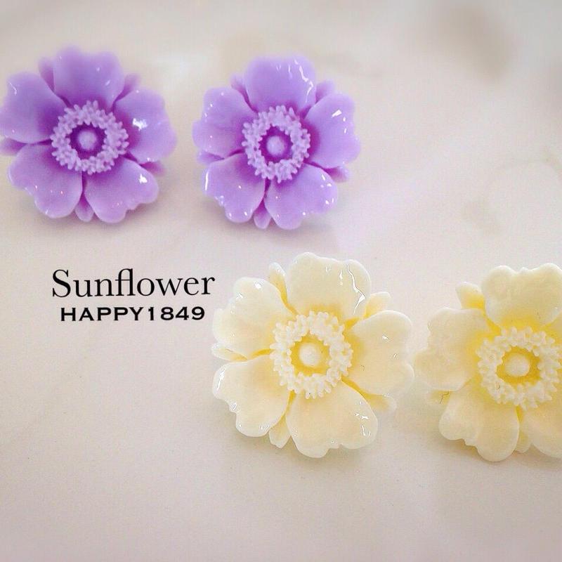 flowerイヤリング