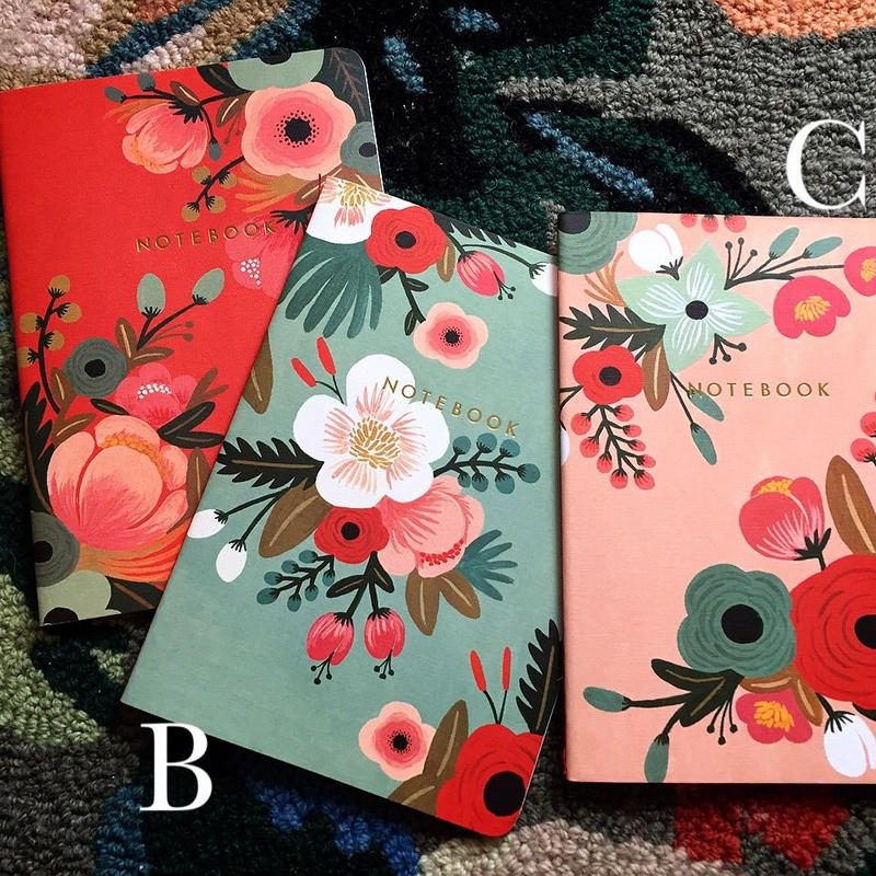 flower collection note books