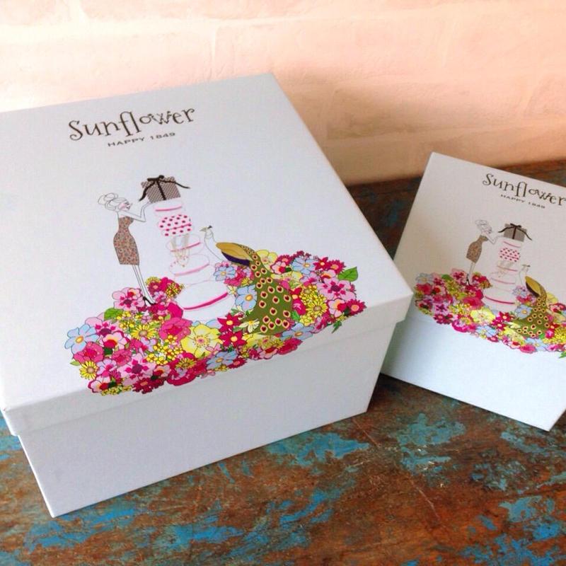 Sunflowerギフトボックス(Lサイズ)