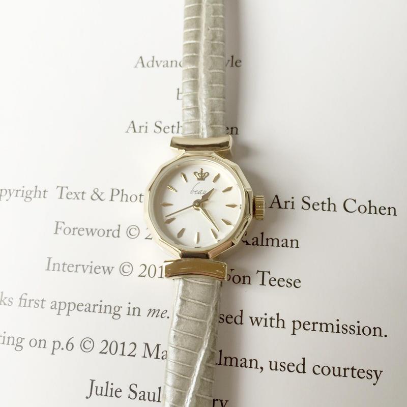 パイソン調時計