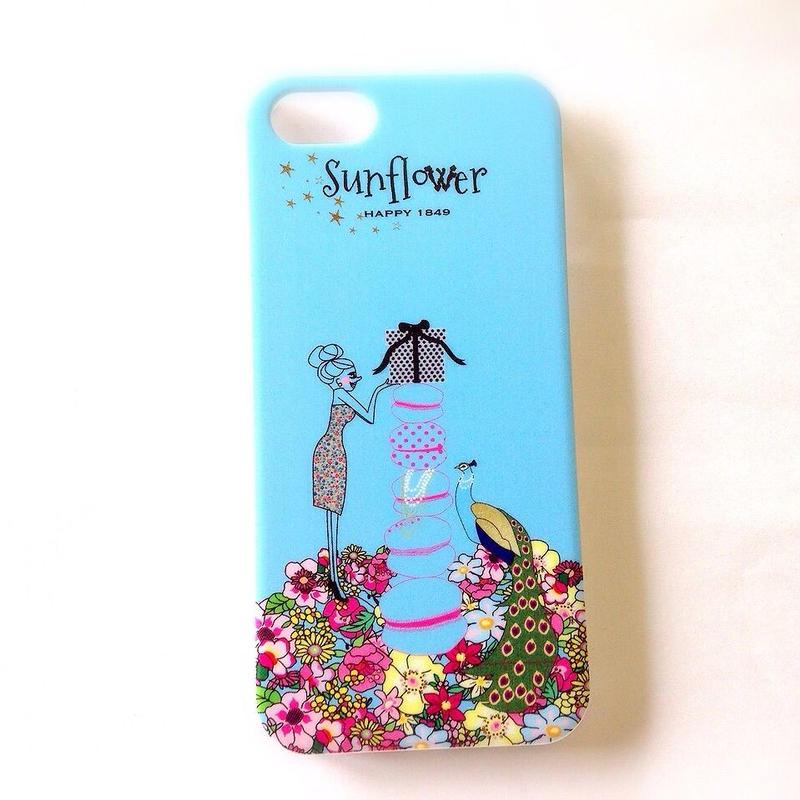 SunflowerオリジナルiPhone5ケース