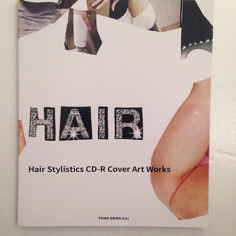 """Hair Stylistics CD-R Cover Artworks"" BOOK With CD ""BEST!"""