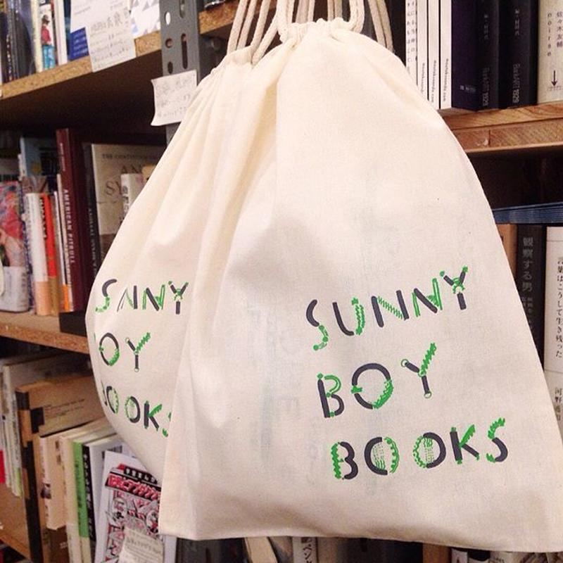SUNNY BOY BOOKS  purse (巾着)