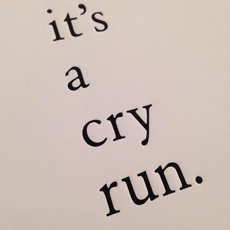朝岡英輔|It's a cry run.