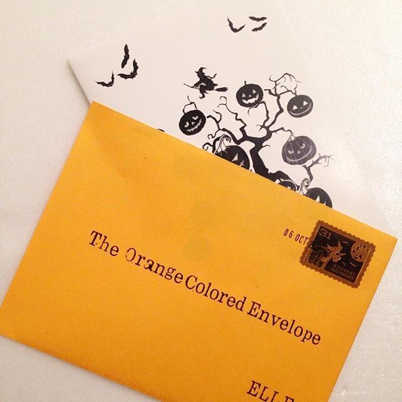 ELLE|The Orange Colored Envelope