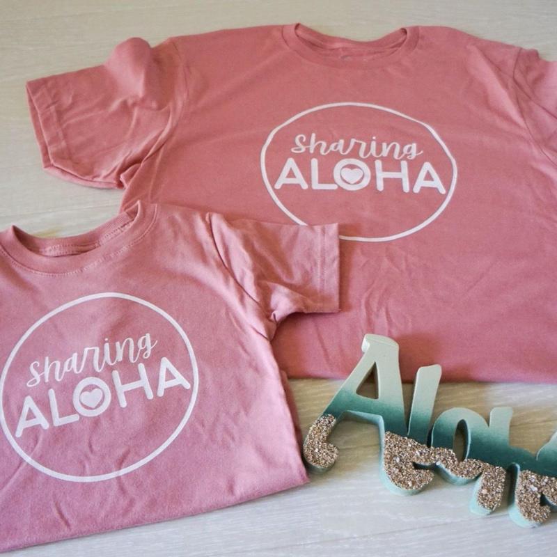ハワイ Short Stack Hawaii Shareing ALOHA Tシャツ