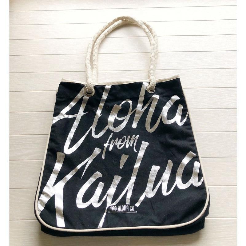 ホールフーズマーケット ×tag aloha Aloha from Kailua トートバッグ/エコバッグ