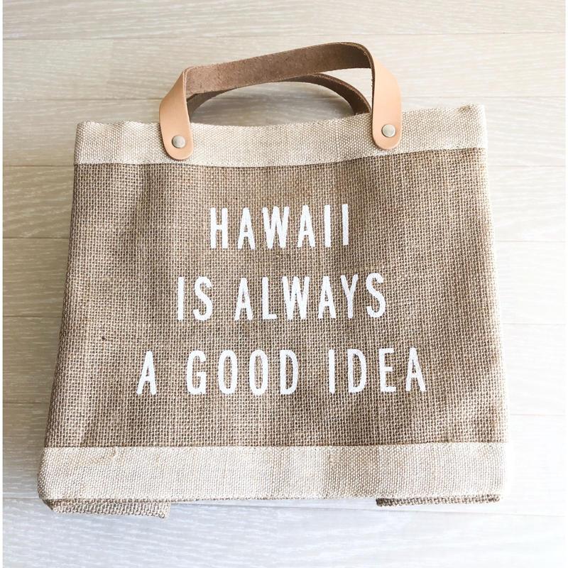 Apolis/アポリス Hawaii ランチトート/マーケットバッグ