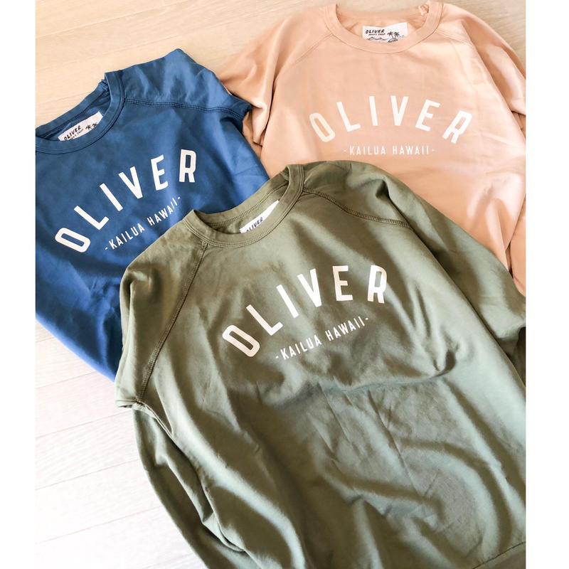 ハワイ OLIVER プルオーバー スウェットシャツ