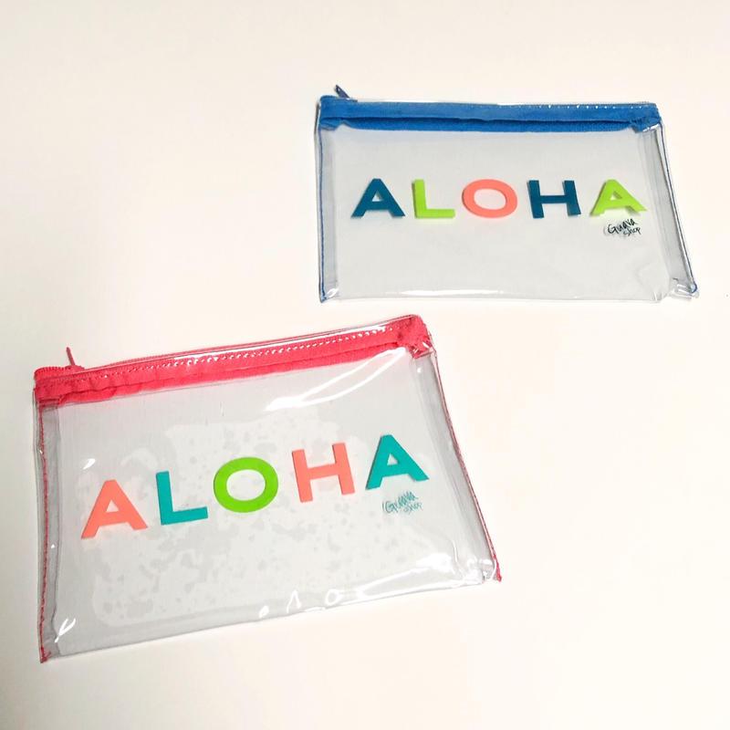 ハワイ Guava shop ALOHA ポーチ スモール 2