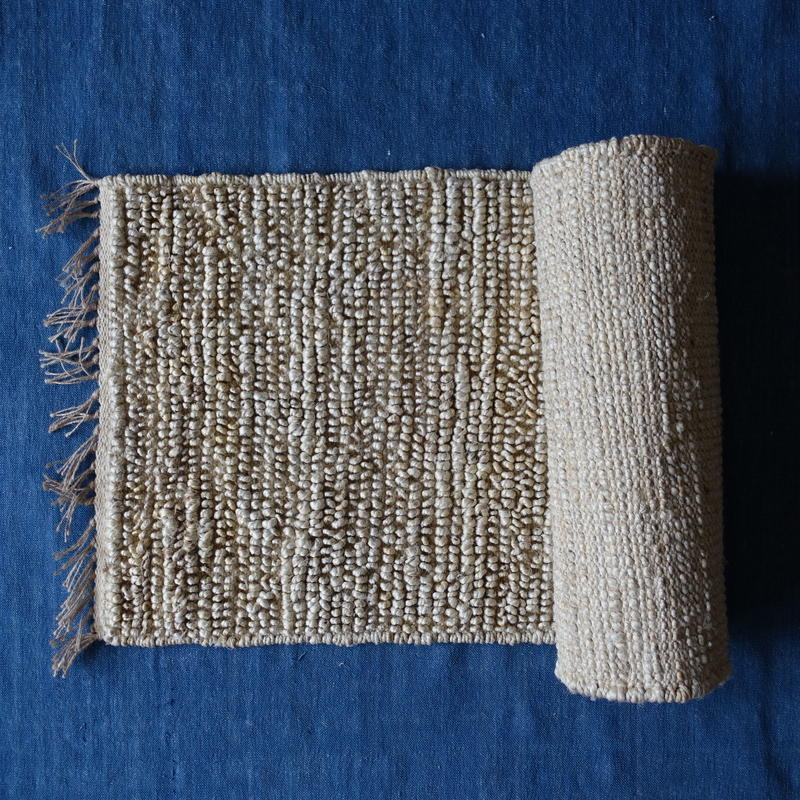 Jute Looped Rug 60×90 (Natural)