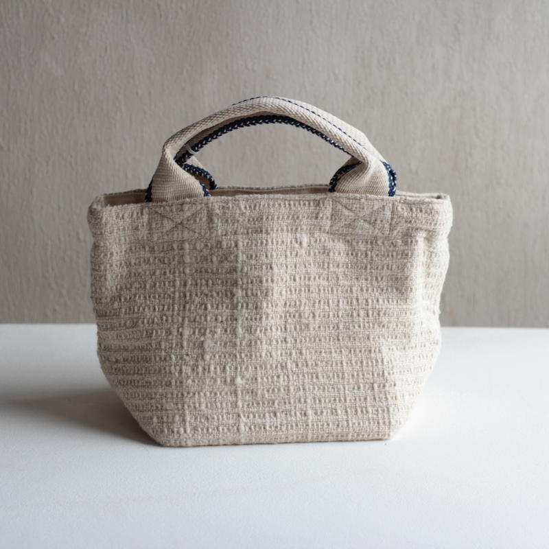 Gara-bou × Canvas Small Tote (Ice Ivory)