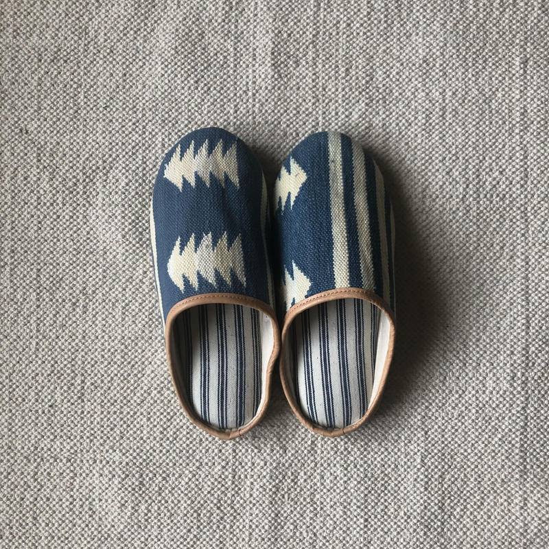 Rug Slippers L (Geometric)