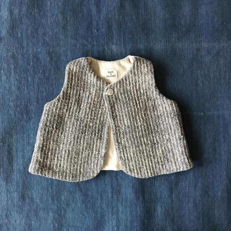Gara-bou Baby Vest (Gray)