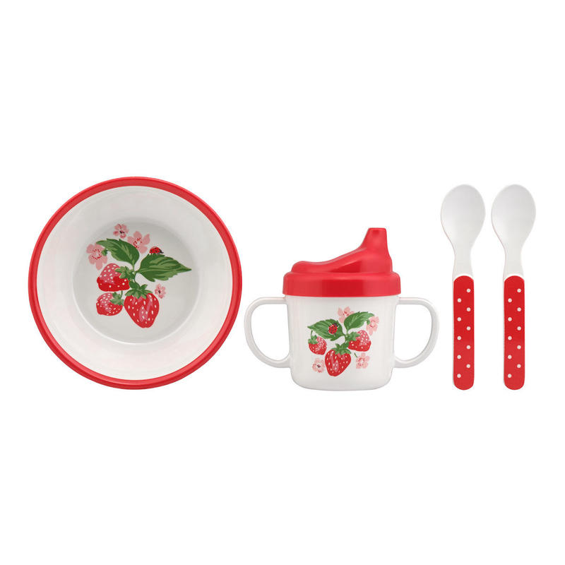 Wild Strawberry Melamine Nursery Set