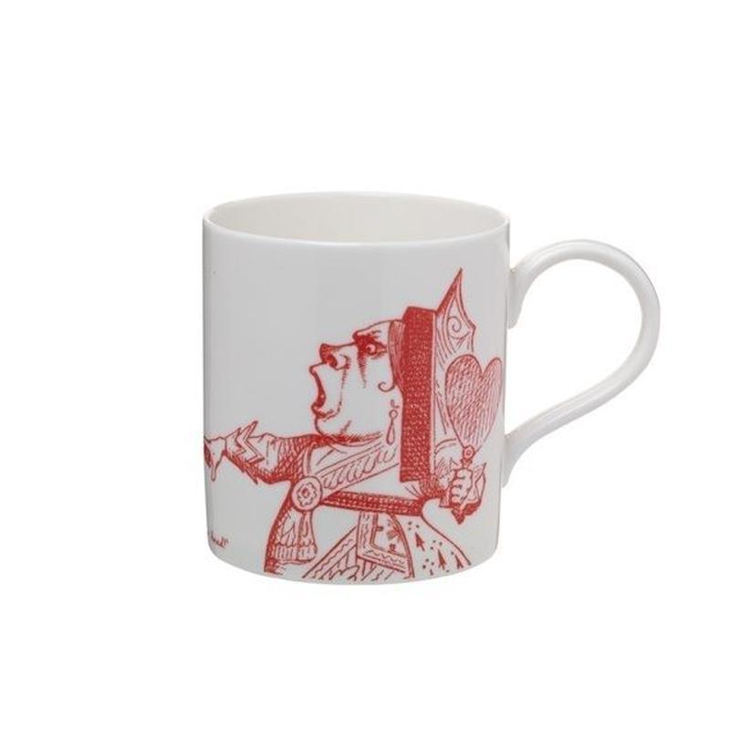 Alice in Wonderland Qween of Hearts Mug