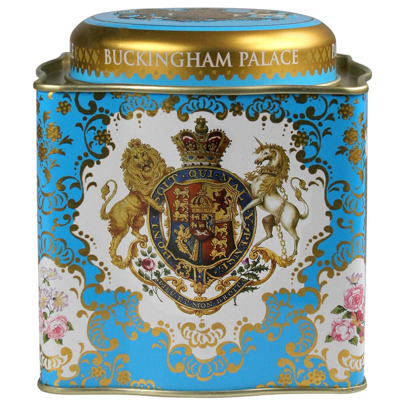 Royal Collection Coat of Arms Tea Caddy