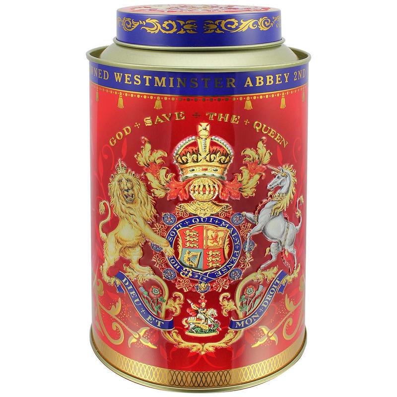 Royal Collection Coronation Tea Caddy