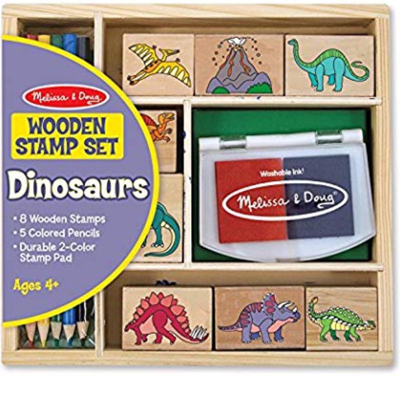 木製スタンプセット 恐竜