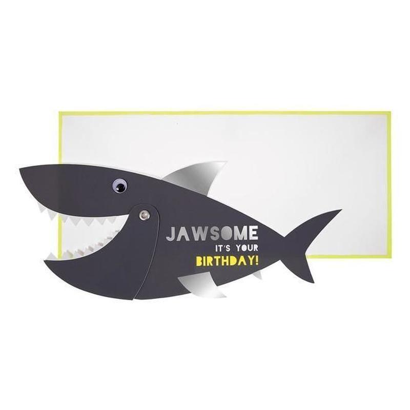 Jawsome Shark Card
