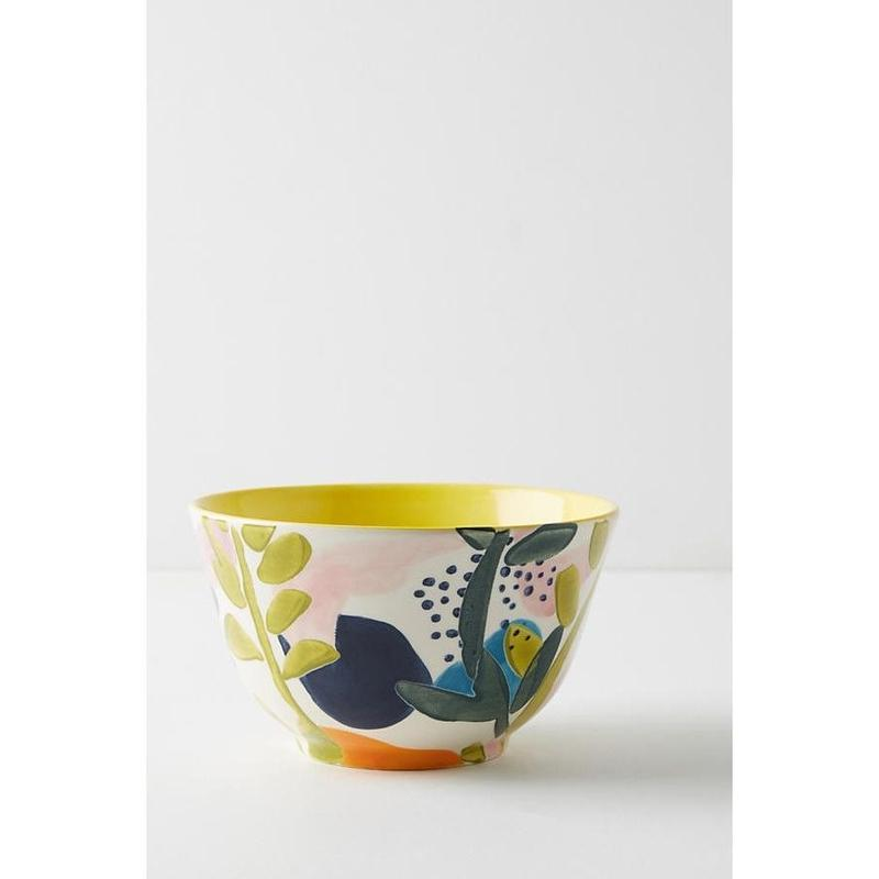 Leaf bowl  yellow