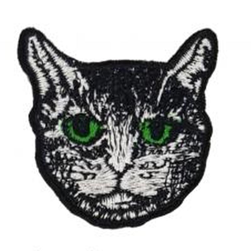 猫 ワッペン