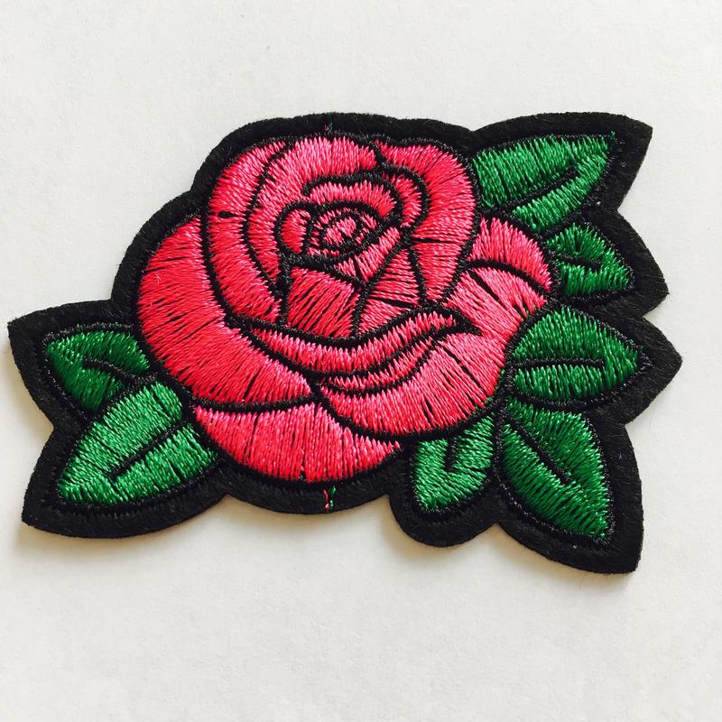 ワッペン rose