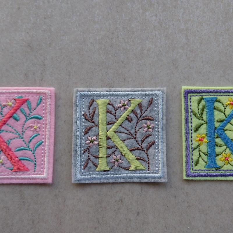 アルファベットワッペン K