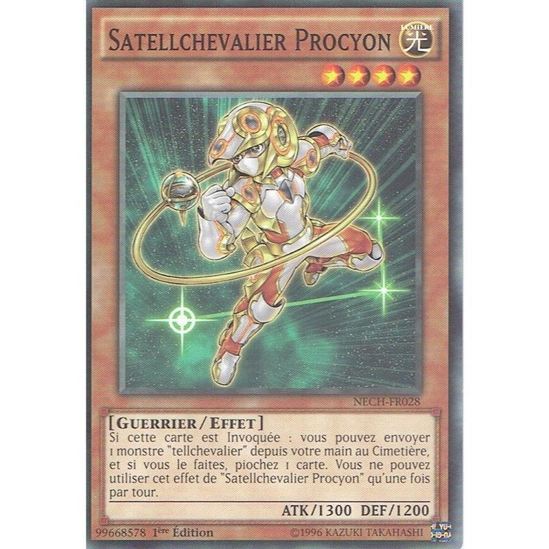 フランス語版 NECH-FR028 Satellarknight Procyon 星因士 プロキオン (ノーマル) 1st Edition