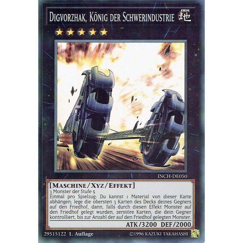 ドイツ語版 INCH-DE050  重機王ドボク・ザーク (スーパーレア) 1st Edition