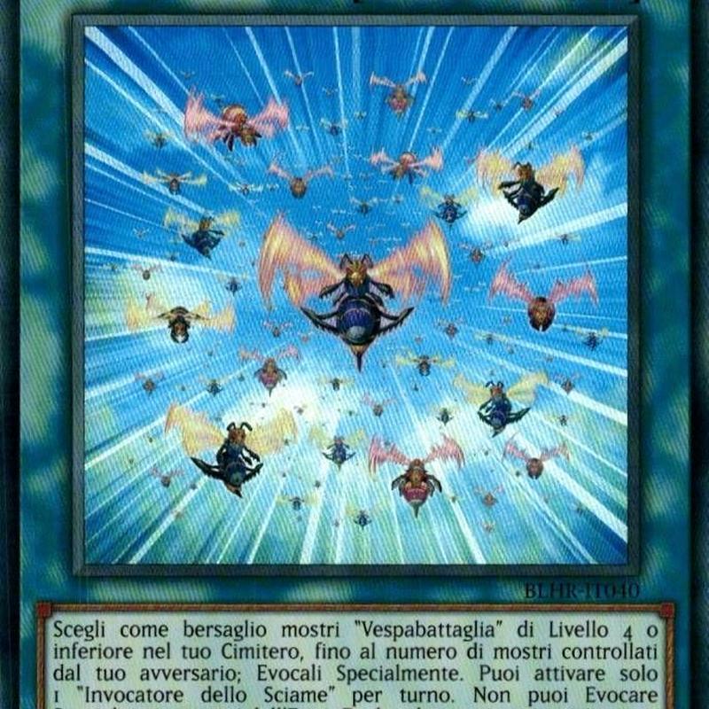 イタリア語版 BLHR-IT040 Summoning Swarm 一斉蜂起 (ウルトラレア) 1st Edition