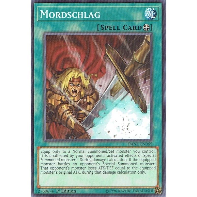 英語版 DANE-EN065 Mordschlag モルトシュラーク (ノーマル) 1st Edition
