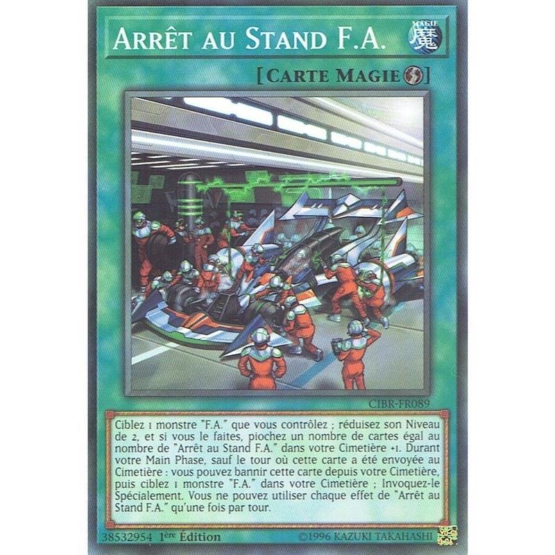 フランス語版 CIBR-FR089 F.A. Pit Stop F.A.ピットストップ (ノーマル) 1st Edition