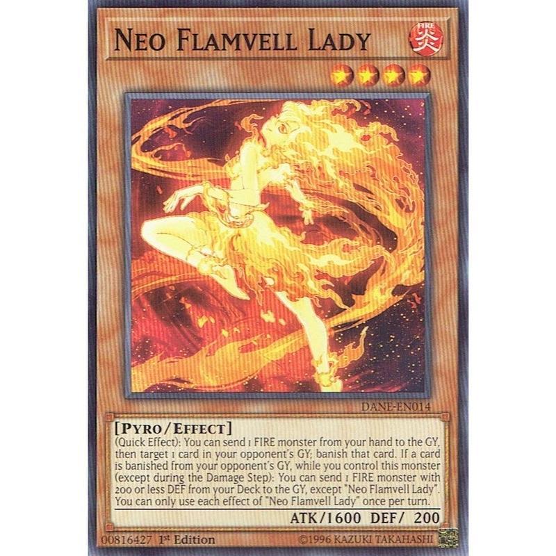 英語版 DANE-EN014 Neo Flamvell Lady ネオフレムベル・レディ (ノーマル) 1st Edition