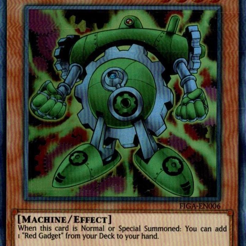 英語版 FIGA-EN006 Green Gadget グリーン・ガジェット (スーパーレア) 1st Edition