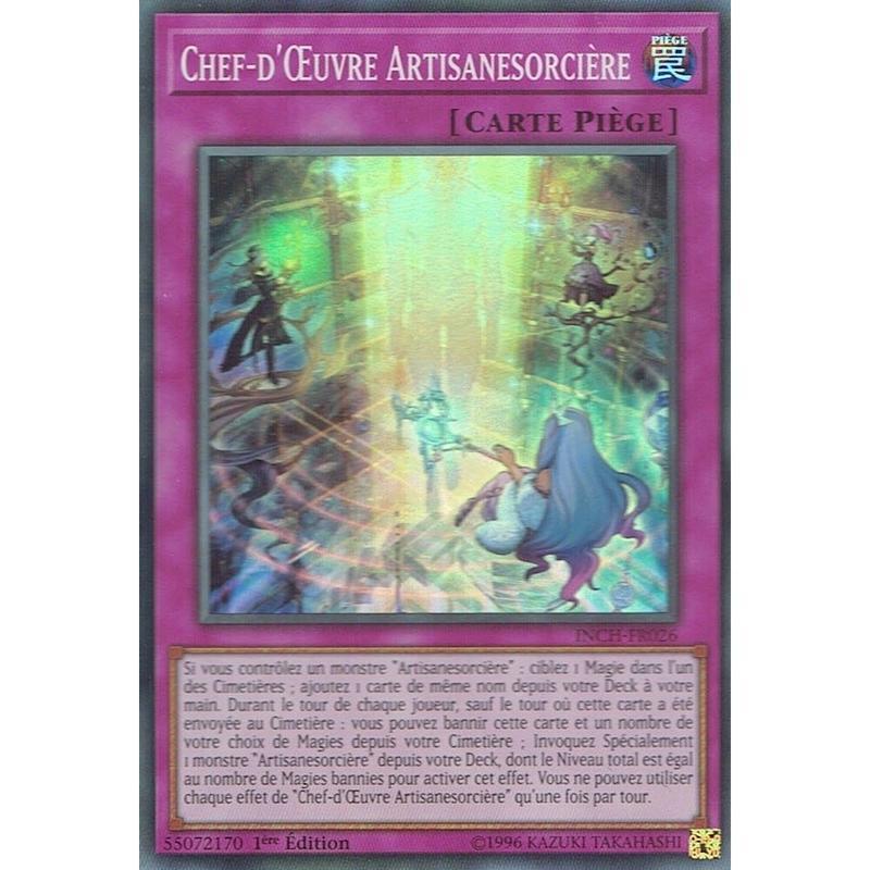 フランス語版 INCH-FR026 Witchcrafter Masterpiece ウィッチクラフト・マスターピース (スーパーレア) 1st Edition