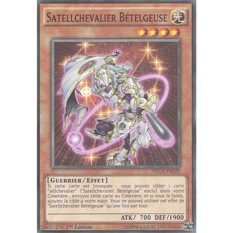 フランス語版 NECH-FR029 Satellarknight Betelgeuse 星因士 ベテルギウス (ノーマル) 1st Edition