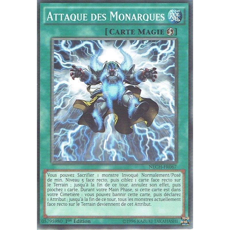 フランス語版 NECH-FR067 Strike of the Monarchs 帝王の轟毅 (ノーマル) 1st Edition