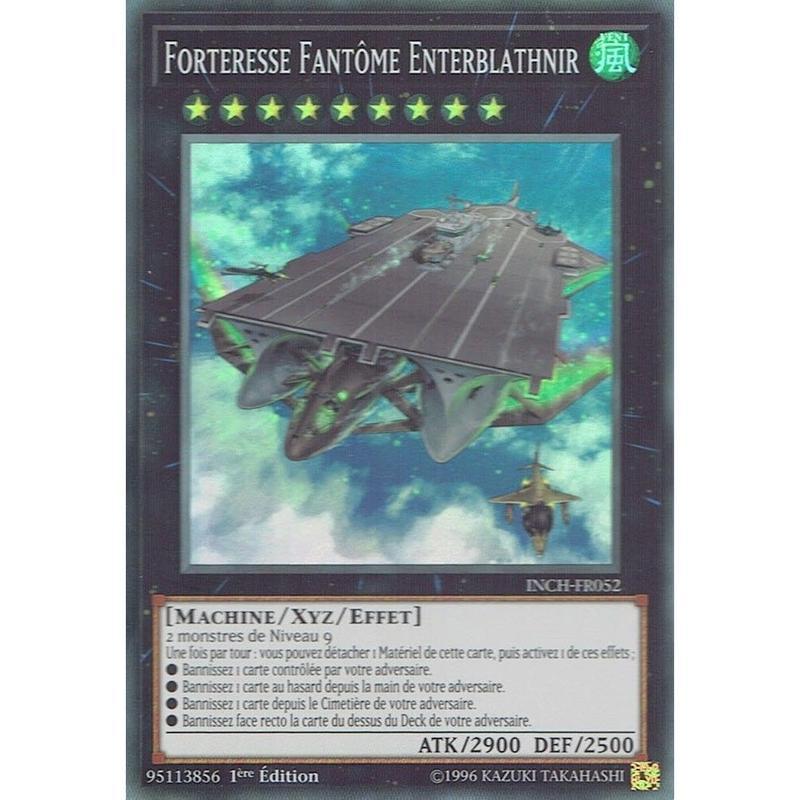 フランス語版 INCH-FR052 Phantom Fortress Enterblathnir 幻子力空母エンタープラズニル (スーパーレア) 1st Edition