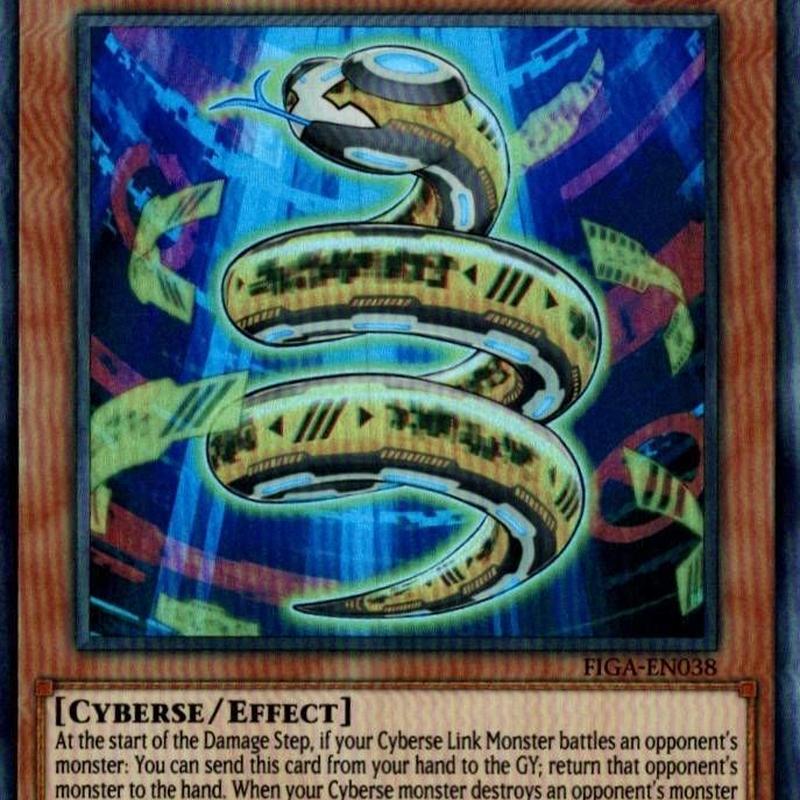 英語版 FIGA-EN038 Prohibit Snake プロフィビット・スネーク (スーパーレア) 1st Edition