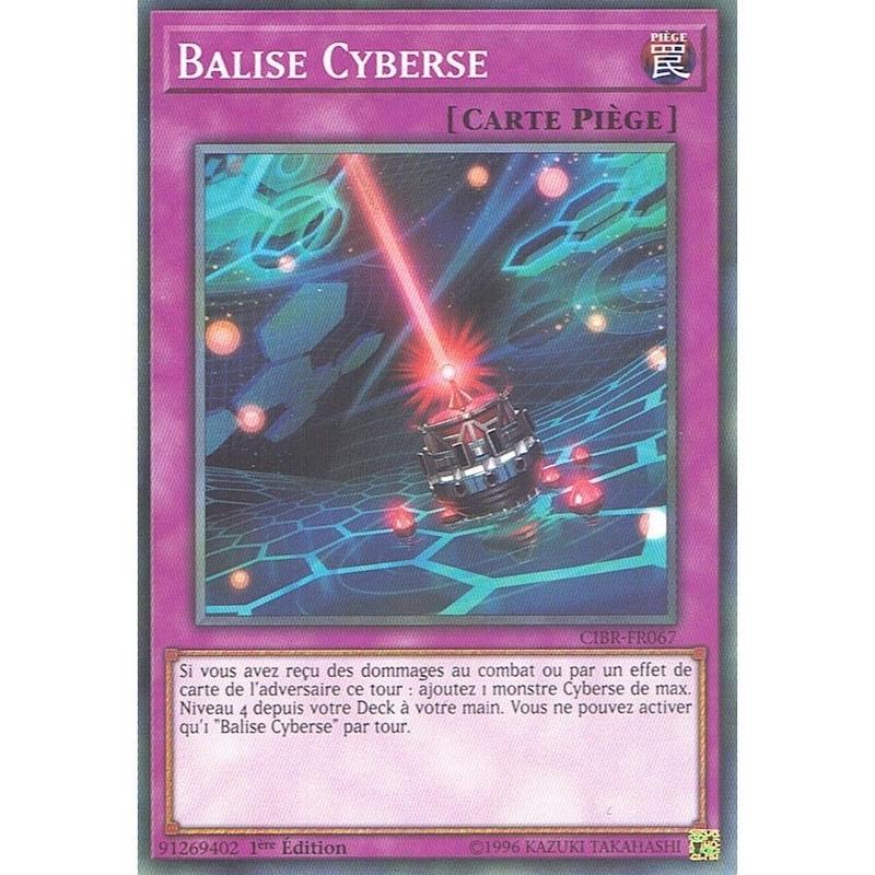 フランス語版 CIBR-FR067 Cyberse Beacon サイバース・ビーコン (ノーマル) 1st Edition
