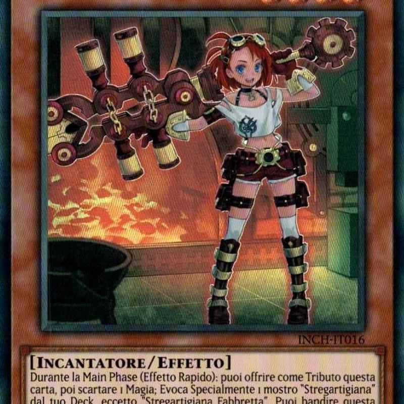 イタリア語版 INCH-IT016 Witchcrafter Schmietta ウィッチクラフト・シュミッタ (スーパーレア) 1st Edition