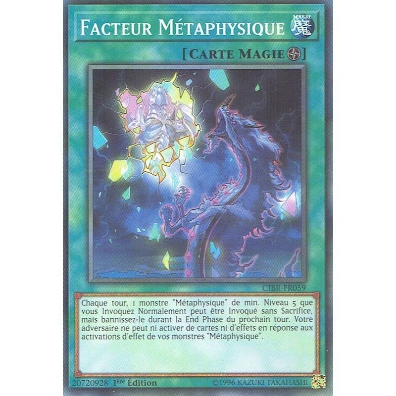 フランス語版 CIBR-FR059 Metaphys Factor メタファイズ・ファクター (ノーマル) 1st Edition