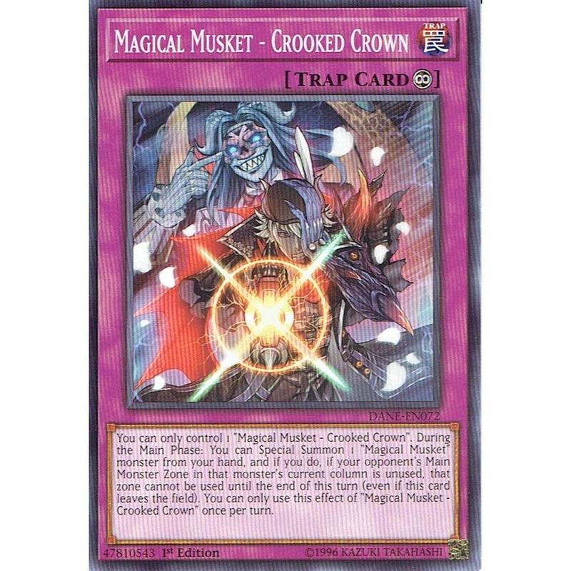 英語版 DANE-EN072 Magical Musket - Crooked Crown 魔弾-ブラッディ・クラウン (ノーマル) 1st Edition