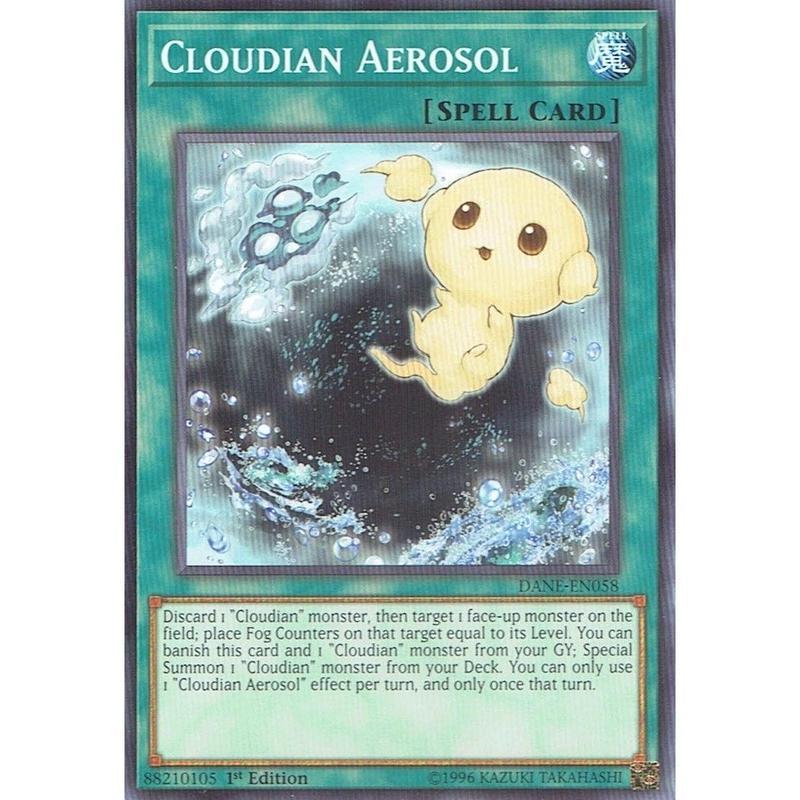 英語版 DANE-EN058 Cloudian Aerosol 雲魔物の雲核 (ノーマル) 1st Edition