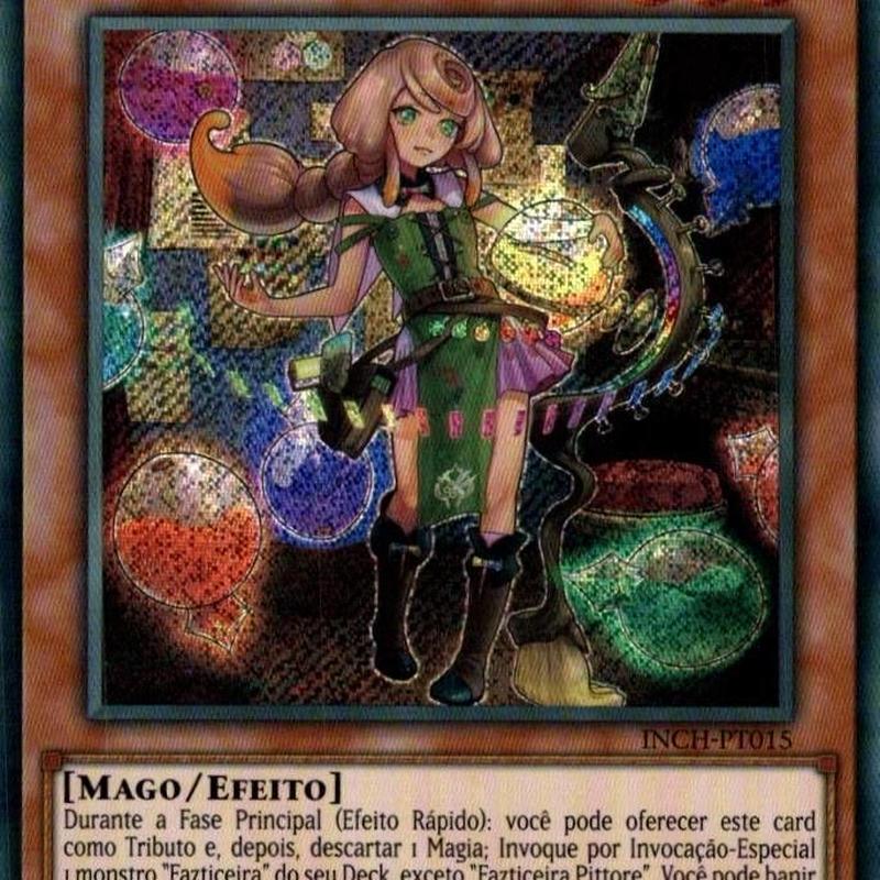 ポルトガル語版 INCH-PT015 Witchcrafter Pittore ウィッチクラフト・ピットレ (シークレットレア) 1st Edition