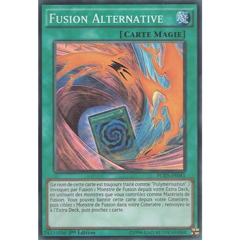 フランス語版 FUEN-FR041 Fusion Substitute 置換融合 (スーパーレア) 1st Edition