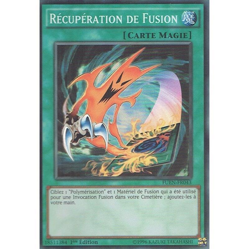 フランス語版 FUEN-FR043 Fusion Recovery 融合回収 (スーパーレア) 1st Edition