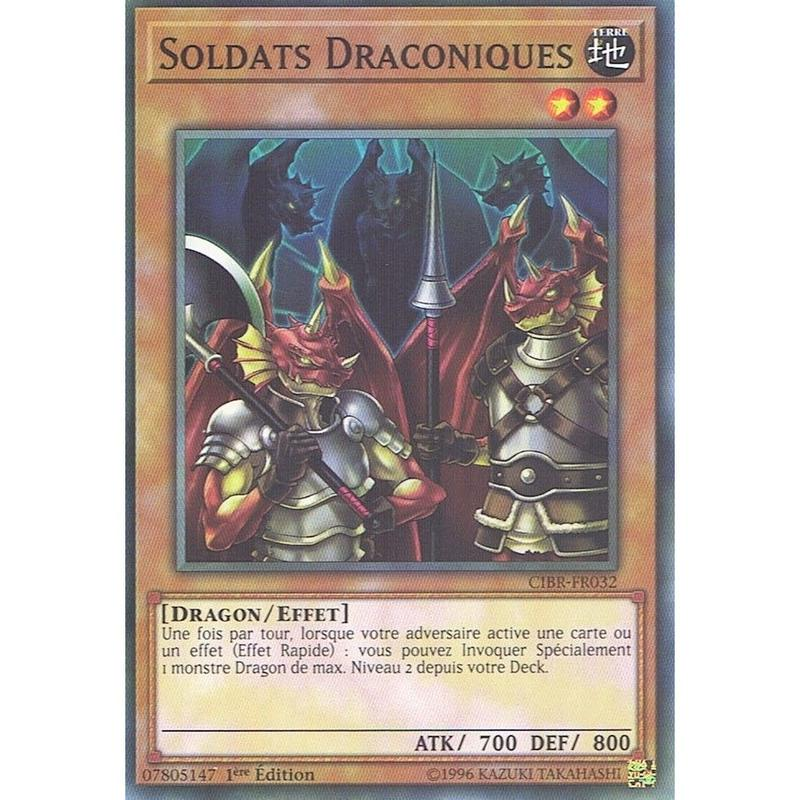 フランス語版 CIBR-FR032 Soldier Dragons 兵隊竜 (ノーマル) 1st Edition